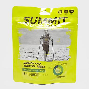 New Summit To Eat Salmon & Broccoli Pasta Camping Hiking Food Yellow
