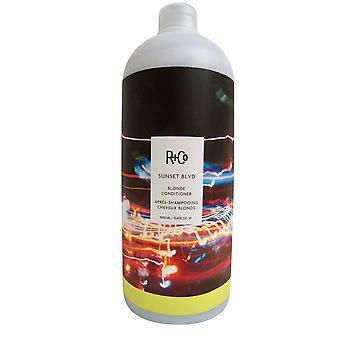 R&Co Sunset Blvd Blonde Conditioner 33.8 OZ