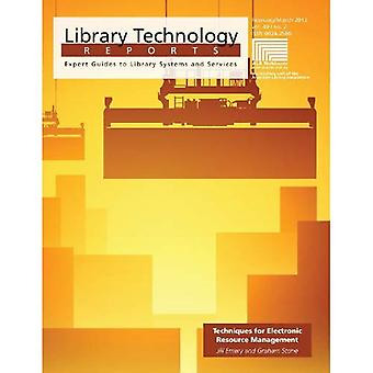 Techniques for Electronic Resource Management (Library Technology Reports)