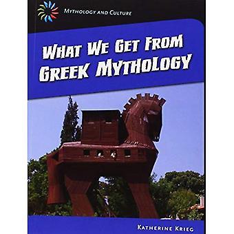 Vad vi får från grekisk mytologi (21st Century färdigheter bibliotek: mytologi och kultur)