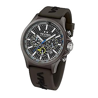 Montre TW Steel montre chronographe quartz homme avec bracelet Silicone TW936
