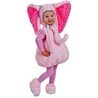 Pink Elephant taapero puku