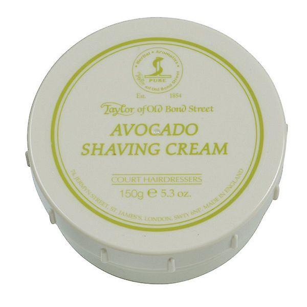 Taylor Of Old Bond Street Shaving Cream Pot 150g - Avocado