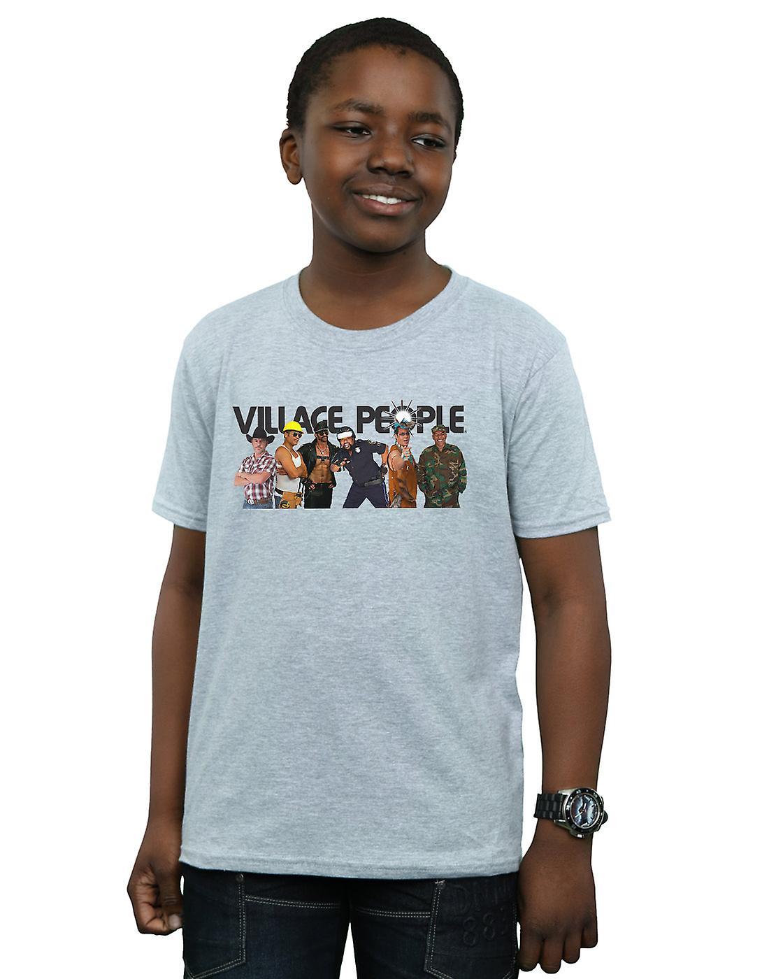 Village People Boys Group Photo T-Shirt