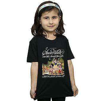 דיסני בנות שלגיה החולצה שבעת הגמדים
