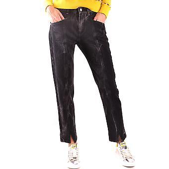 Givenchy Ezbc010017 Women's Black Cotton Jeans