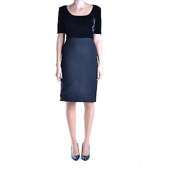 Gianfranco Ferré Ezbc105002 Women's Black Viscose Dress