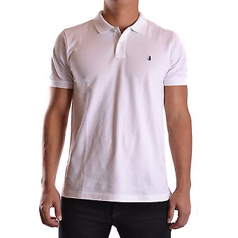 Jeckerson Ezbc069008 Men's White Cotton Polo Shirt
