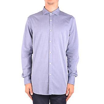 Jacob Cohen Ezbc054319 Männer's hellblau Baumwollshirt
