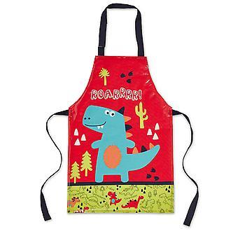 Cooksmart barn forkle i PVC, Dinosaur