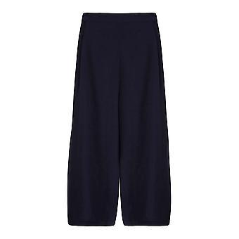 Yumi Womens/Ladies Wide Leg Cropped Trousers