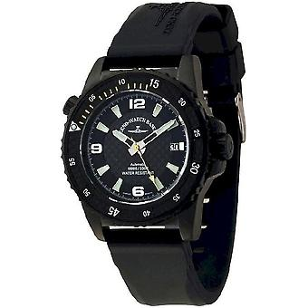 Zeno-watch mens watch professional diver automatic 6427-bk-s1-9