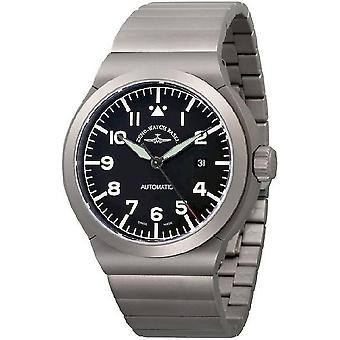 Zeno-watch mens watch RAID titanium Navigator 6454N-a1M