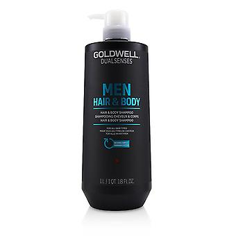Goldwell Dual Senses Men Hair & Body Shampoo (for All Hair Types) - 1000ml/33.8oz