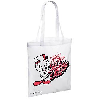 Looney Tunes Tweety Pie I Tawt I Taw un Puddy tat Tote Bag