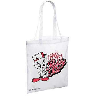 Looney Tunes Tweety Pie I Tawt I Taw a Puddy Tat Tote Bag