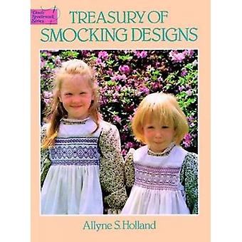 Treasury of Smocking Designs by A.S. Holland - 9780486249919 Book