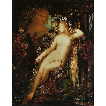 Galatea,Gustave Moreau,50x40cm