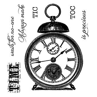 Woodware Clear Stamps Tic Toc Set Of 7