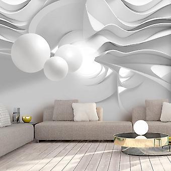 Fotomural - White Corridors
