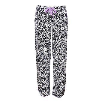 Cyberjammies 4186 Women's Laura Grey Mix Animal Print Cotton Pyjama Pant