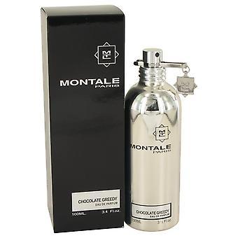 Montale chocolade hebzuchtige Eau de parfum spray (unisex) door Montale 536038 100 ml
