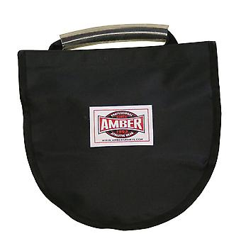 Amber Athletic Discus Throw Sports Practice Carry Bag Storage with Hand Holder