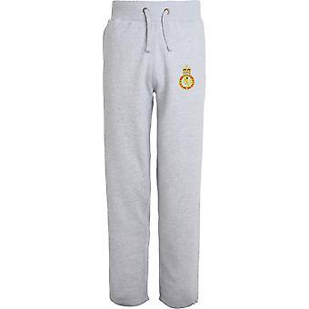 Armee Kadetten-Force - lizenzierte britische Armee bestickt offenen Hem Sweatpants / Jogging Bottoms