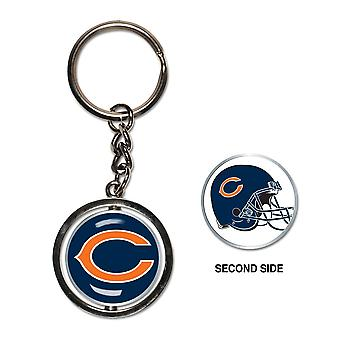 Wincraft SPINNER Keychain - NFL Chicago Bears