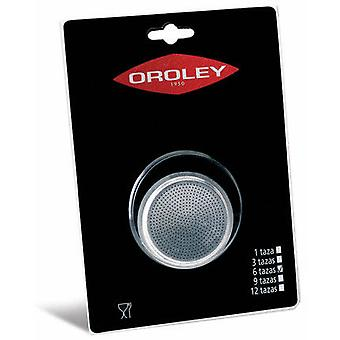 Oroley Replacement Aluminum Filter 9 cups