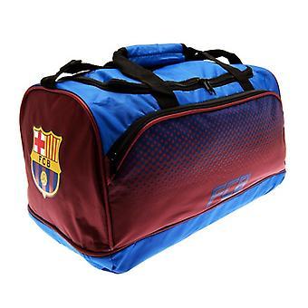 FC Barcelona Official Fade Football Crest Holdall Bag