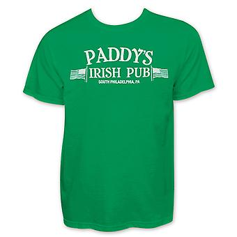Paddy ' s Irish Pub Philadelphia St. Patrick ' s Graphic men ' s gröna T-shirt