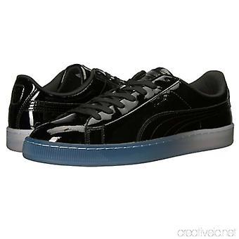 Puma Damski kosz patentowy lód fade Low Top Lace Up Fashion Sneakers