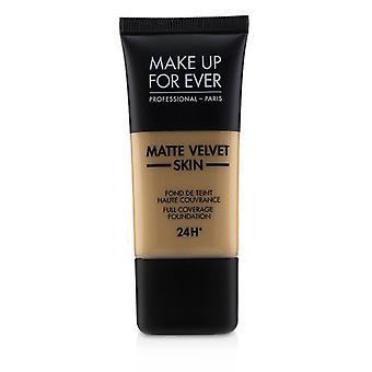 Make-up voor ooit mat fluweel huid volledige dekking Foundation-# Y375 (gouden zand)-30ml/1oz