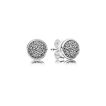 Pandora ? Silver women's earrings 925 with white zircons ? 290726 CZ