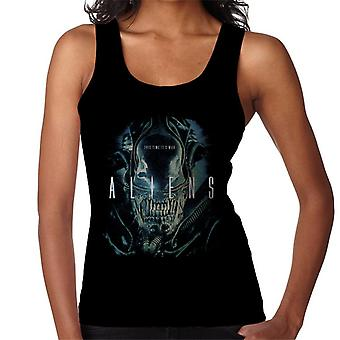 Aliens This Time Its War Women's Vest