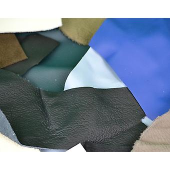 SALE - 500g Assorted Leather Remnants - Offcuts for Crafts