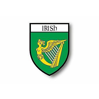 Sticker Sticker Motorcycle Car Blason City Flag Ireland Royal Irish R2