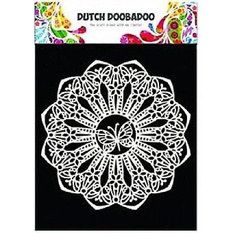 Dutch Doobadoo A5 Mask Art Stencil - 145mm Butterfly Doily 470.715.110