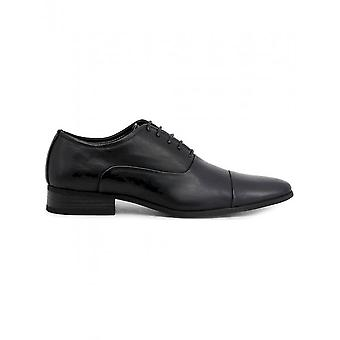 Duca di Morrone - Shoes - Lace-up shoes - EMERY-BLACK - Men - Schwartz - 40
