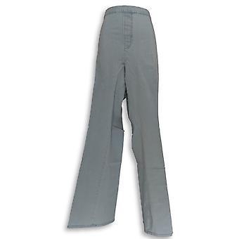 Isaac Mizrahi Live! Womens Jeans 24/7 Denim Boot Cut Blue A270049 PTC