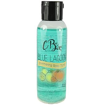CB & Co skimrende Body tonic blå lagune 100 ml