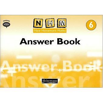 Nieuwe Heinemann wiskunde jaar 6: antwoord boek