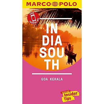 India South Marco Polo Pocket Travel Guide  with pull out m