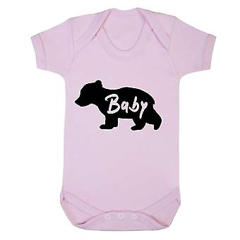 Reality glitch baby bear kids babygrow