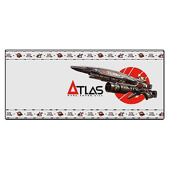 Borderlands 3 -Atlas- Mousepad for keyboard and mouse black, printed, made of 100% plastic, in gift wrapping.