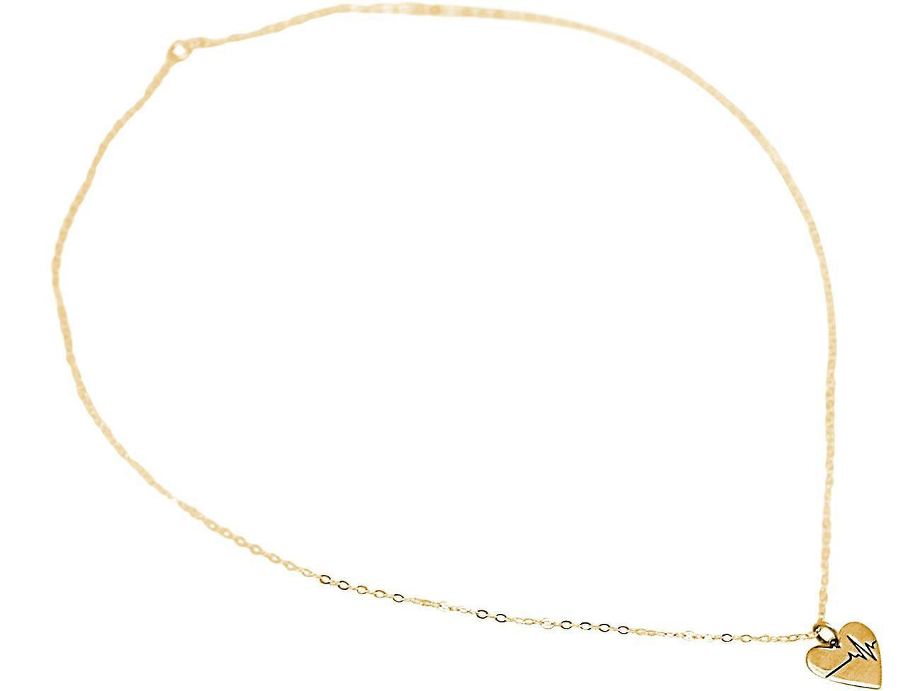 Halskette Herzschlag EKG: Doktor, Arzt, Krankenschwester, Biologe in 925 Silber