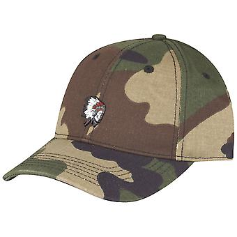 Cayler & Sons Curved Strapback Cap - Freedom Corps wood camo