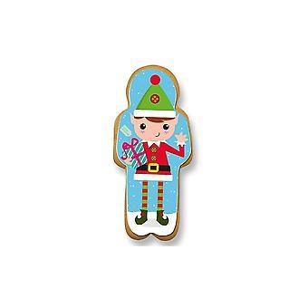 Culpitt Gingerbread Elf Sugar Plaque - Boxed 60