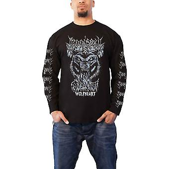 Moonspell T Shirt Wolfheart Band Logo new Official Mens Black Long Sleeve